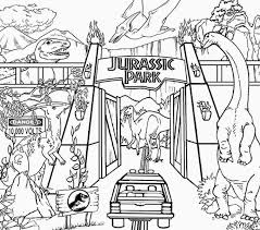 Jurassic Park Coloring Pages Best