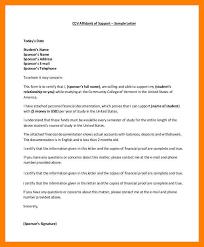 Lovely Affidavit Support Template Resume Ideas