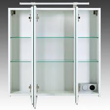 spiegelschrank dorina badspiegel badezimmerschrank mit led