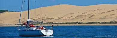 accès dune du pilat pyla sur mer