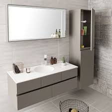 Surprising Bathroom Basins Cabinets Cabinet Grey Base Illuminated
