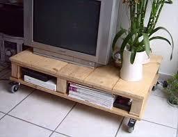 DIY Wooden Pallet Tv Stands Plans