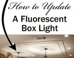 fluorescent lights fascinating replacing kitchen fluorescent