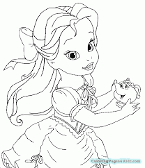 Free Disney Princess Halloween Coloring Pages