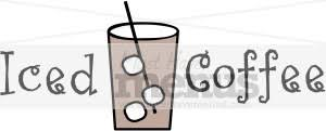Iced Coffee Clip Art