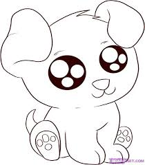 Cute Animal Coloring Pages Anime Animals
