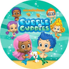 Bubble Guppies Cake Toppers by Bubble Guppies Cake Topper Edible Image Party Toppers Etsy