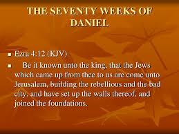 100 Daniel 13 PPT THE SEVENTY WEEKS OF DANIEL PowerPoint Presentation