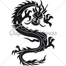 Chinese Dragon Silhoue Pic Source