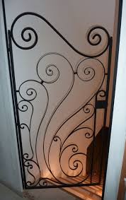 deco fer forge ferronnerie portail et portillon en fer forgé ferronnerie 17