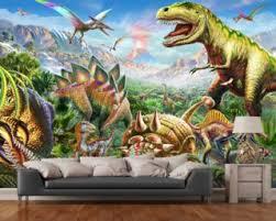 Dinosaurs Group Wallpaper Mural
