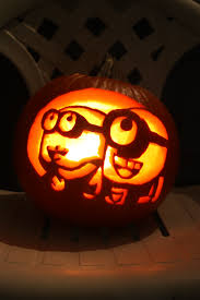Alien Pumpkin Designs by Minion Pumpkins U2013 Painting Halloween Pinterest Minion