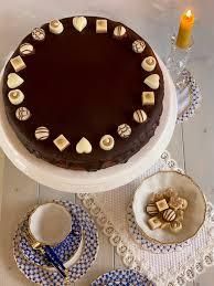 saftige schoko nougat torte wiener kaffeehaus torte