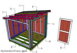 8x8 lean to shed roof plans myoutdoorplans free woodworking