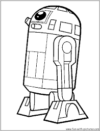 D2 Coloring Page Within R2d2