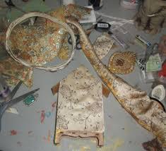Viva Decor Inka Gold Dried Out by Gypsy Soul Laser Cuts Ex Voto Shrine By Gdt Member Rhonda