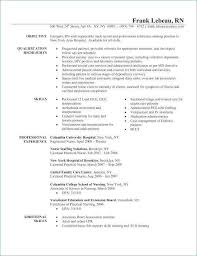 Labor And Delivery Nurse Resume Lovely Icu Luxury