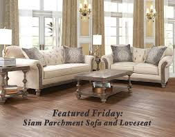 American Freight Living Room Tables by The Siam Parchment Sofa And Loveseat Is American Freight