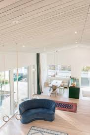 akustik decke in modernem wohnraum silentfiber