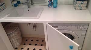 schrank für waschmaschine im badezimmer mit eingebautem