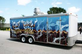 West Palm Beach Concession Trailer Food Truck Wrap For Get Toasted