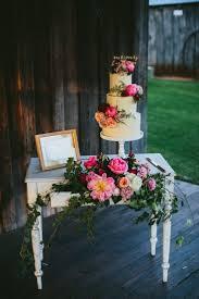 Cake Table Flowers Peony Peonies Sign Whimsical Barn Wedding Australia Throughthewoodswe