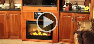 Amazing Rv Fireplace Brilliant Decoration Electric Fireplaces For