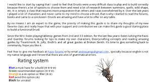 Prometeus Guide To Druid