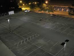 Parking Lot Lighting with Improved Uniformity