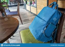 Blue Small Backpack Bag On Chair In Coffee Shop Stock Photo - Image ... The Coffee Time Style Bean Bag Chair Garden Camping Beanbag Cover Lazy Sofa Anywhere Portable Sitting Cushionin Living Room Chairs From Fniture On 2017 New Hot Sale Modern Leather Set L Armchair With Coffee Bag Chair Round Table Outdoor Cover West Elm Canada Pallet Ottoman Biggie Bags Xl Size Cream Empty New Premium Soft Replica Tolix In Gunmetal Cushion Cafe Chevron Sack 5 Ft Multiple Colors Rustic Pig A French Feed Refinished Diy Fufsack Wide Wale Corduroy 7foot Xxl