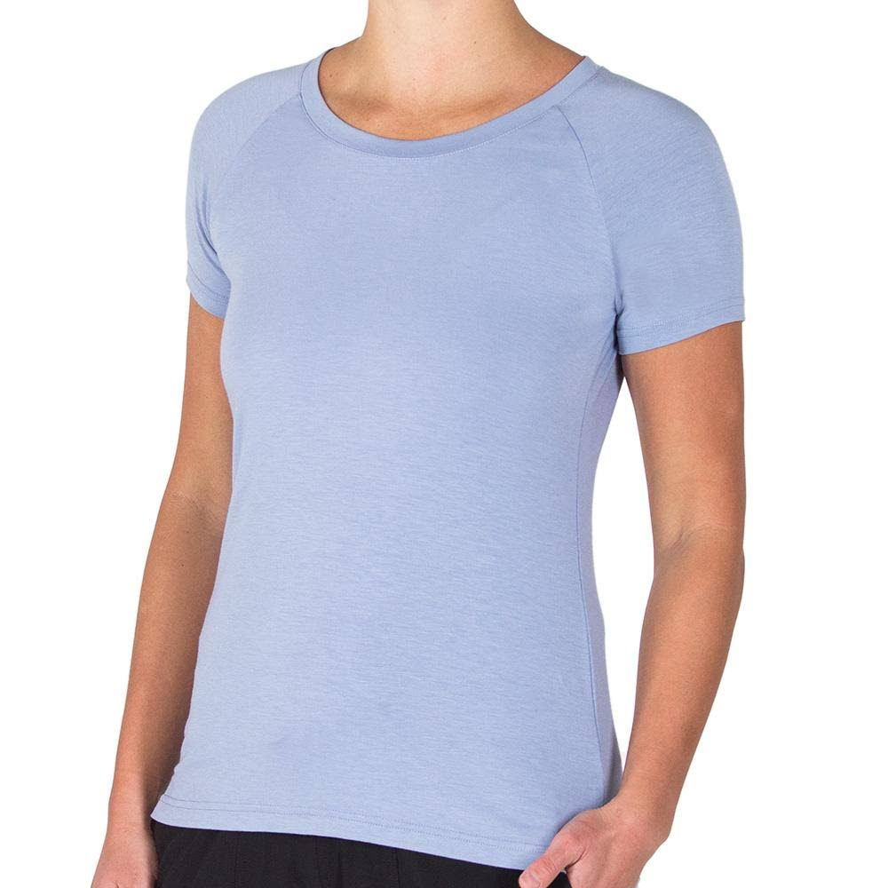 Free Fly Women's Bamboo Explorer Tee, Purple Dusk / Large