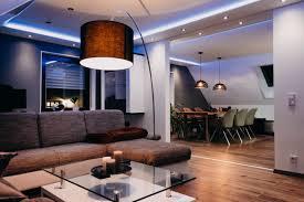 indirekte beleuchtung im wohnzimmer esszimmer küche