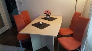 segmüller esstisch mit 4 stühle in 80937 münchen for 49 00