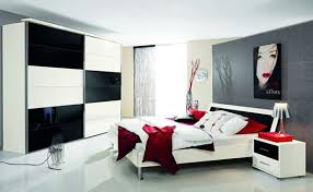 Spectacular Red And Black Bedroom Ideas 18 For Interior