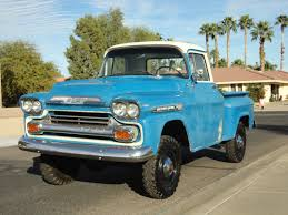 1959 Chevy 1/2 Ton Shortbed Napco 4x4 - Classic Chevrolet Other ...