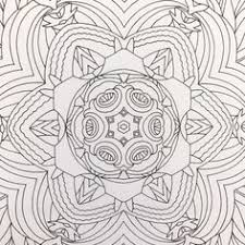 A Detail Of One The Coloring Pages From More Flower Mandalas An Adult Book For Inspiration And Stress Relief By Mary OMalley David