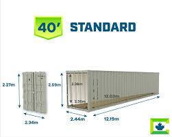 104 40 Foot Shipping Container Dimensions Metric Imperial Dimensions