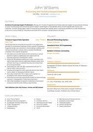 Technical Support CV Example