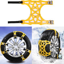 6pcs/Set Car Snow Tire Chains Beef Tendon Vehicles Wheel Antiskid ...