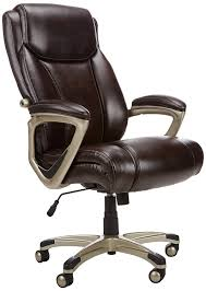 Amazon.com: AmazonBasics Big & Tall Executive Computer Desk Chair ... Oro Big And Tall Executive Leather Office Chair Oro200 Conference Hercules Swivel By Flash Fniture Safco Highback Zerbee Work Smart Chair Hom Ofm Model 800l Black Esprit Hon And Chairs Simple Staples Aritaf Bodybilt J2504 Online Ergonomics Amazoncom Office Factor 247 High Back400lb Go2085leaembgg Bizchaircom Serta At Home Layers