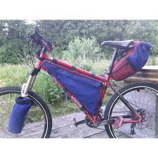 sur mesure sacacycle sacoches vélo artisanales en coton imperméable