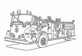 Fire Truck Coloring Pages To Print Refrence Rescue Transportation ...