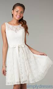 different styles of white lace graduation dress mia blog