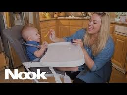Joovy High Chair Nook by New Joovy Nook High Chair Features Adjustable Swing Open Tray To