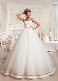 Buy discount Stunning Tulle Strapless Neckline Ball Gown Wedding