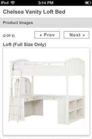 Chelsea Vanity Loft Bed by Loft Bed Dimensions Things To Make Pinterest Loft Beds