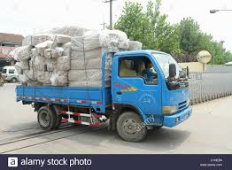 100 Bagged Truck Blue DFAC Delivery With Bagged Packing Cartons Pudong Stock