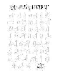 Movus BrushPen Project Life Pinterest Letras Tipografía