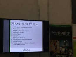 Surprise This Year On OHSA's Top 10 | 2018-10-23 | ISHN Forklift Top 6 Common Osha Compliance Pitfalls For Powered Sample Generic Checklist Industrial Trucks Youtube Gensafetysvicespoweredindustrialtruck The Safety Drumbeat Ignored As Often Its Heard University Operator Traing Osha Forklift Fact Sheet Elegant Etool Associated Regulations Required Power Truck Features Continue To Evolve Ehs Pit Pp T