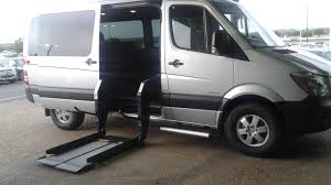 Mobility Wheel Chair Accessible Sprinter Van Conversions Dave